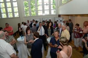 Viele Besucher waren zu Gast der Auftaktveranstaltung im Theo-Schaller-Saal